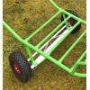Deux roues arrière Directionnelles pour CHARIOT